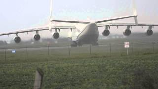 Download Antonov AN-225 Takeoff at Edmonton International Airport June 28th, 2014 Video