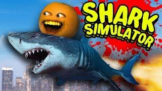 Download SHARK SIMULATOR - Dr. Buttchomp! [Annoying Orange Plays] Video