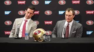 Download 49ers Draft 2017: John Lynch, Kyle Shanahan discuss first round Video