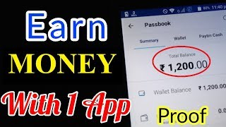 Download EARN money WITH PROOF FROM ONE APP | LATEST TRICKS Video