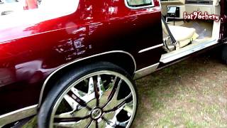 Download Candy Brandywine Oldsmobile Cutlass on 28's BEATING - HD Video
