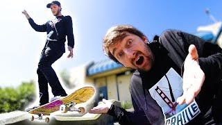 Download BRAILLE GOES STREET SKATING 2.0 Video