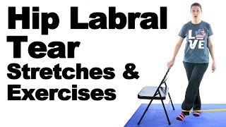 Download Hip Labral Tear Stretches & Exercises - Ask Doctor Jo Video
