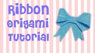 Download Cara Membuat Pita Origami | Ribbon Origami Tutorial Video