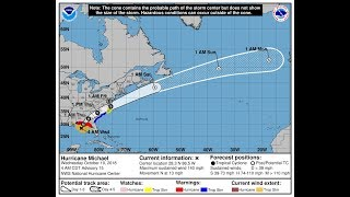 Download Tracking Hurricane Michael - Weather Channel RECORDED 10/10/2018 NOT LIVE Video