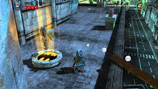 Download LEGO Batman 2 DC Super Heroes - All Gold Bricks in Gotham City South - City Hall & West Side Video