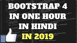 Download Bootstrap 4 in One Video in HINDI 2019 Video