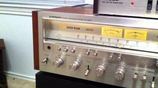 Download Pioneer SX-1250 + Bose 901-II speakers and equalizer + Dual 1229 phonograph Video