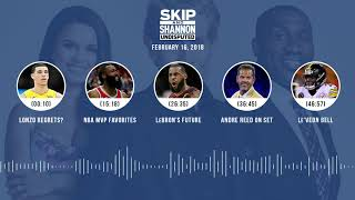 Download UNDISPUTED Audio Podcast (2.16.18) with Skip Bayless, Shannon Sharpe, Joy Taylor | UNDISPUTED Video