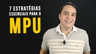Download 7 ESTRATÉGIAS ESSENCIAIS PARA O CONCURSO MPU Video
