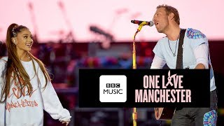 Download Chris Martin and Ariana Grande - Don't Look Back In Anger (One Love Manchester) Video