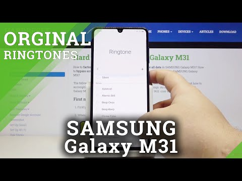 How to Change Ringtone in SAMSUNG Galaxy M31 – Find Ringtone Settings