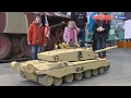 Download GIANT RC CHALLENGER 1:6 SCALE BATTLE TANKS at BOVINGTON TANK MUSEUM [UltraHD & 4K] Video