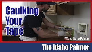Download PERFECT lines with caulking and tape. Video