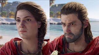 Download Assassin's Creed Odyssey: Male/Female Character Comparison Video