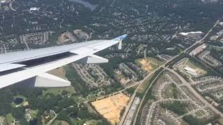 Download Awesome Airport View | Frontier A320 Landing at Raleigh-Durham RDU Airport Video