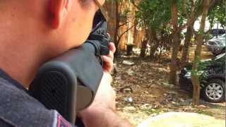 Download Gleydson e Francisco Testando Fuzil M4 para Airsoft Palmas TO Video