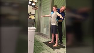 Download Mom Furious Over 13-Year-Old Son's Airport Pat-Down: We Were Treated Like Dogs Video