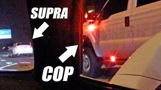 Download Sheriff Truck Watches Street Race... TROLLS Supra! Video