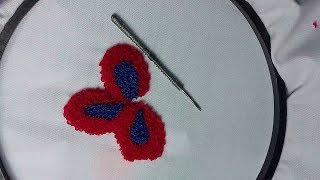 Download Punch Needle Embroidery - পাঞ্চ সুই দিয়ে কাপড়ে নকশা করা শিখুন। Embroidery Design bd Video