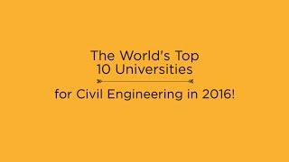 Download Top 10 Universities for Civil Engineering in 2016 Video