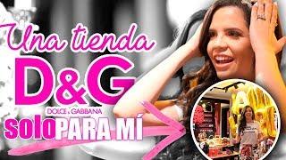 Download ME COMPRO LA TIENDA DOLCE & GABBANA - CERRARON LA TIENDA SOLO PARA MI - EL MUNDO DE CAMILA Video