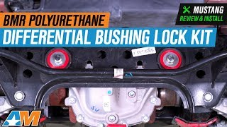 Download 2015-2018 Mustang BMR Polyurethane Differential Bushing Lockout Kit Review & Install Video
