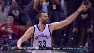 Download Marc Gasol's Game-Winner Caps Off Epic Finish in Memphis | April 22, 2017 Video