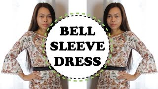 Download DIY HOW TO MAKE A BELL SLEEVE DRESS Video