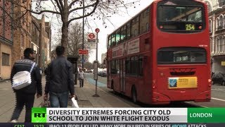 Download White Flight: Diversity extremes push Londoners' exodus Video