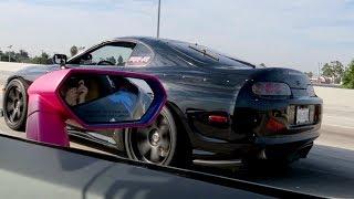 Download Toyota Supra vs. Lamborghini Huracan Video