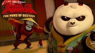Download Monkey Business | KUNG FU PANDA: THE PAWS OF DESTINY Video
