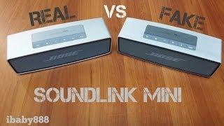 Download Bose Soundlink Mini Speaker - Original VS Replica! Video