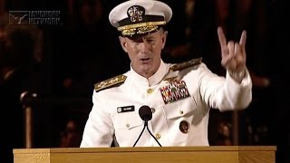 Download Admiral McRaven addresses the University of Texas at Austin Class of 2014 Video
