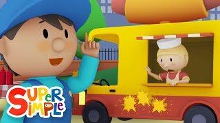 Download Harvey's Hot Dog Truck | Car Wash Cartoon for Kids Video