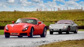 Download TVR Tuscan vs TVR Sagaris - Fifth Gear Video