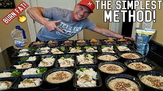 Download How To Meal Prep For The Entire Week | Bodybuilding Shredding Diet Meal Plan Video
