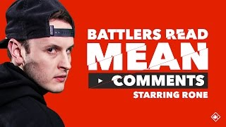 Download KOTD - Battlers Read Mean Comments - Rone Video