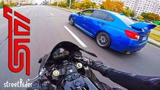 Download ЧУВАК НА СУБАРУ ПЫТАЛСЯ | Subaru WRX STI vs Fireblade Video