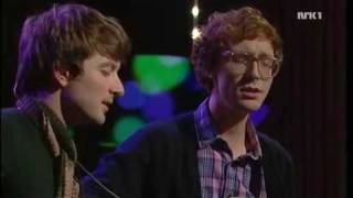 Download Kings of Convenience sing ″24-25″ live Video