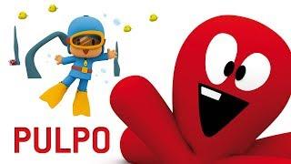 Download Pocoyo - El pack de PULPO | 60 minutos con nuestro amigo Pulpo y Pocoyo Video
