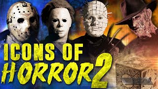 Download Freddy vs Jason vs Pinhead vs Michael vs Jeepers Creepers | Icons of horror 2 full Horror movie Video
