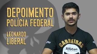 Download Leonardo Liberal fala sobre a preparação para se tornar Policial Federal - AlfaCon Video