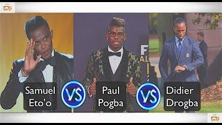 Download Meilleur Danseur: Samuel Eto'o, Didier Drogba ou Paul Pogba? Video