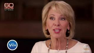 Download Betsy DeVos Struggles In Interview On Education | The View Video