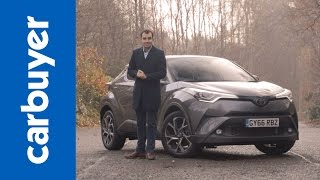 Download Toyota C-HR SUV review - James Batchelor - Carbuyer Video
