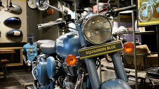 Download Royal Enfield Classic 500 ABS | Squadron Blue | Price | Details | Full Review Video