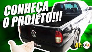 Download Volkswagen Saveiro TSI - Novo Project Car - Apresentando a Pão de Queijo (by OLX) Video