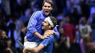 Download Roger Federer & Rafael Nadal - Pure Friendship - Beautiful & Funny Moments - 2017 Video