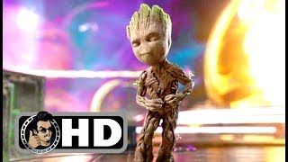 Download GUARDIANS OF THE GALAXY 2 Opening Baby Groot Dancing Movie Clip (2017) Superhero Movie HD Video
